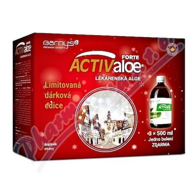 Barnys ACTIValoe gel FORTE Vánoce  3x500ml