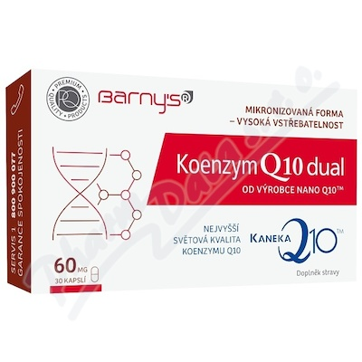 Barnyďs Koenzym Q10 dual 60mg cps.30