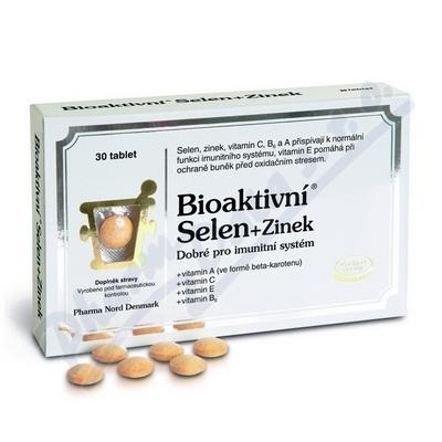 Bio-Selen+Zinek+vit.tbl.30 (Bioaktivní Selen+Zinek