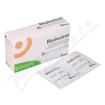 Blephaclean 20 sterilních tamponů