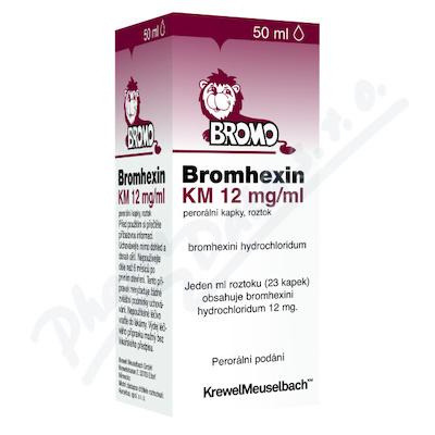 BROMHEXIN 8 KM KAPKY