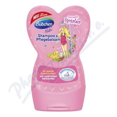 Bübchen Růženka šampon a kondicionér 230ml