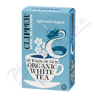 Čaj Clipper organic white tea 25x2g