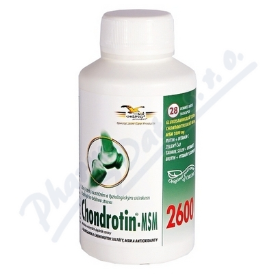 Chondrotin MSM 2600 cps.168