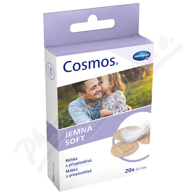 Rychloobvaz COSMOS Sensitive kulaté 20ks