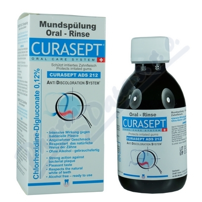 Curaprox CURASEPT ADS 212 ústní voda 200ml