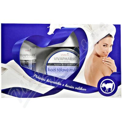 Dárková kazeta příro.kosmetika s kozím mlékem 3ks