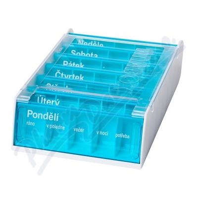 Dávkovač na léky ANABOX 7 dní UV ochrana