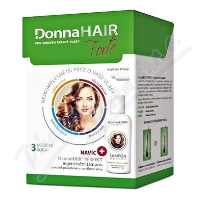DonnaHAIR FORTE 3měs.kúra tob90 + šampon 100ml