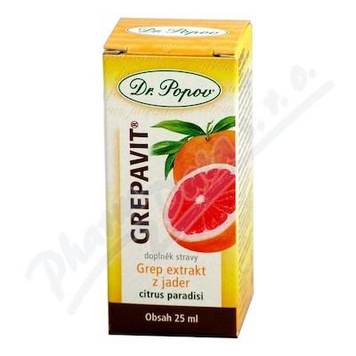 Grep extrakt z jader (Grepavit) 25ml Dr.Popov