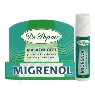 Dr.Popov Migrenol roll-on masážní olej 6ml