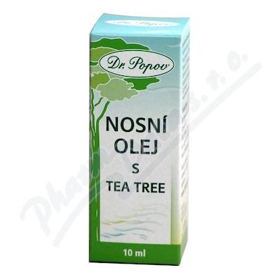 Dr.Popov Nosní olej s tea tree 10ml