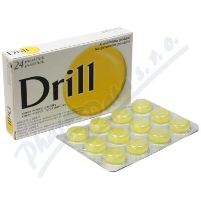DRILL CITRON MENTOL