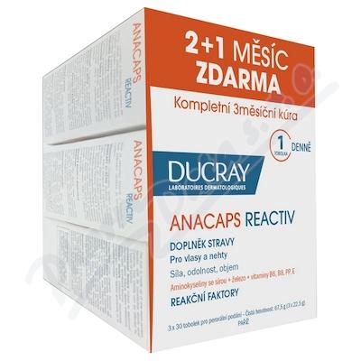 DUCRAY Anacaps Reactiv-reakční vypad.vlasů tob.90