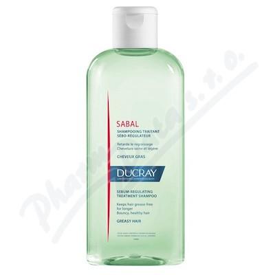 DUCRAY Sabal Šampon regulující tvorbu mazu 200ml