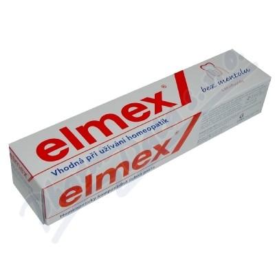 Elmex bez mentolu zubní pasta 75ml