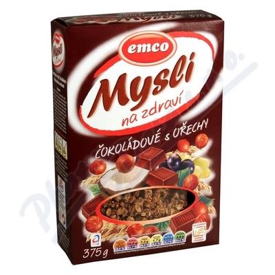 EMCO Msli čokoládové s lískovými oříšky 375g