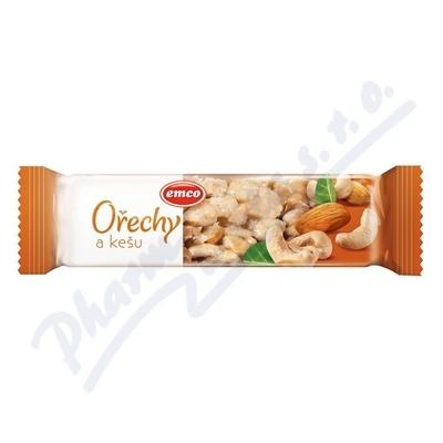EMCO Tyčinka Ořechy a kešu 35g