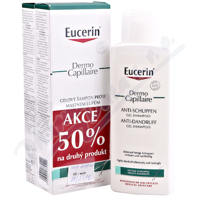 EUCERIN DermoCapil. šampon mast.lupy 250ml promo18