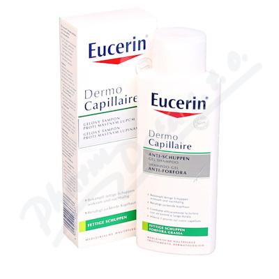 EUCERIN gel.šampon proti lupům DermoCapill. 250ml
