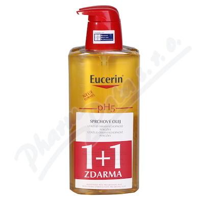 EUCERIN pH5 Relipidační sprchový olej 400ml 1+1