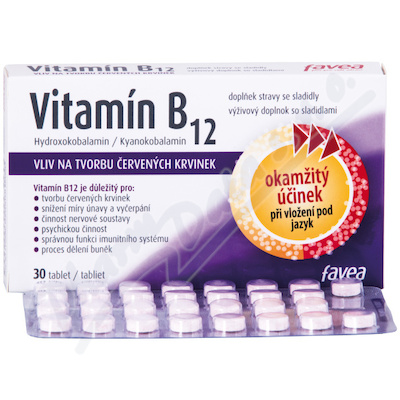 Favea Vitamín B12 tbl.30