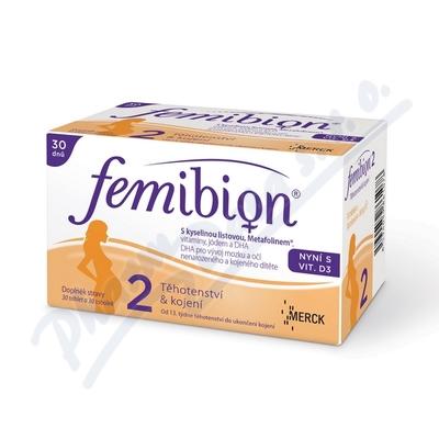 Femibion 2 s vit. D3 tbl.30 + tob.30