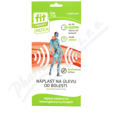 FIT Therapy náplast na šíji 3ks