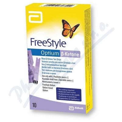PROUŽKY DIAGNOSTICKÉ FREESTYLE OPTIUM (PRO ZP KÓD 0085337)