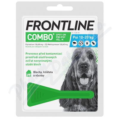 Frontline Combo Spot on Dog M pipeta 1x1.34ml - Veterinární přípravky a potřeby pro vaše mazlíčky.