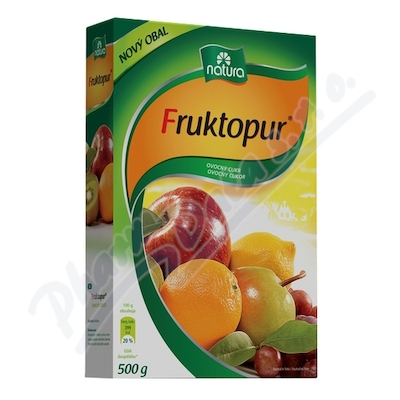 Fruktopur ovocný cukr plv.500g
