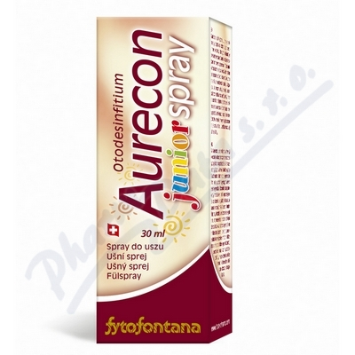 Fytofontána Aurecon ušní sprej Junior 30 ml