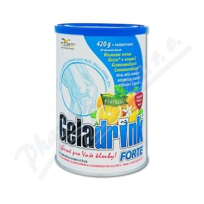 Geladrink Forte nápoj pomeranč 420g