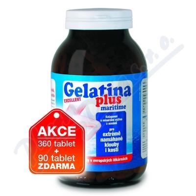 Gelatina Plus tbl.450 kolagenní výživa z moře