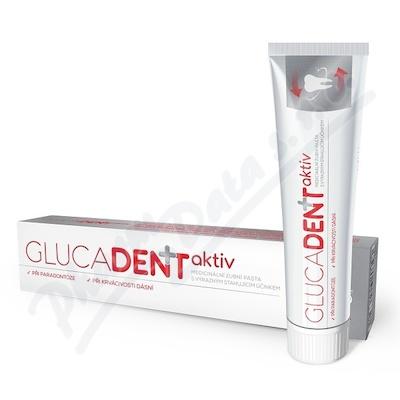 Glucadent+aktiv zubní pasta 95g