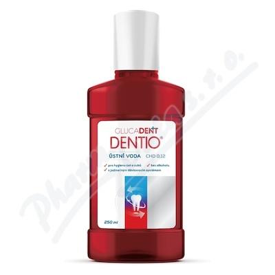 Glucadent Dentio CHD 0.12 ústní voda 250 ml