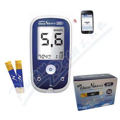 Glukometr AKCE SD-GlucoNavii NFC +50 proužků navíc