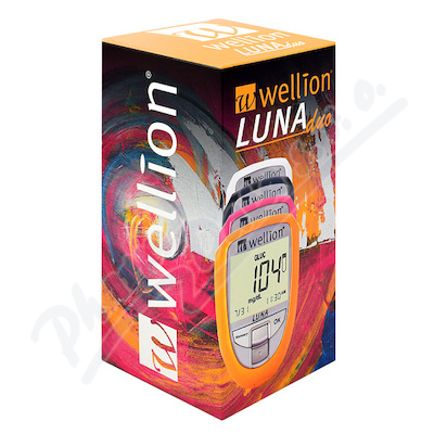 GLUKOMETR WELLION LUNA DUO