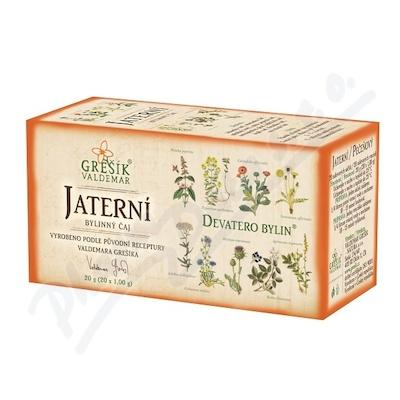 Grešík Jaterní čaj n.s. 20x1g Devatero bylin