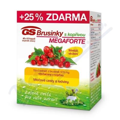 GS Brusinky Megaforte s kopřivou cps. 40+10 2015