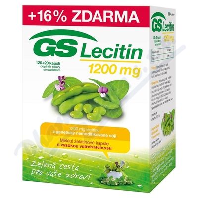 GS Lecitin 1200 cps.120+20