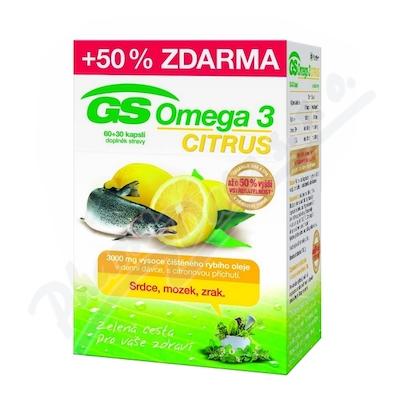 GS Omega 3 Citrus cps. 60+30