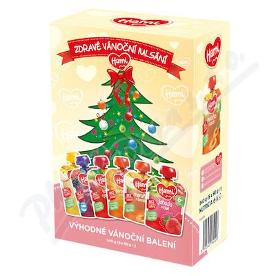 Hami příkrm OK Vánoční balení 6x90g