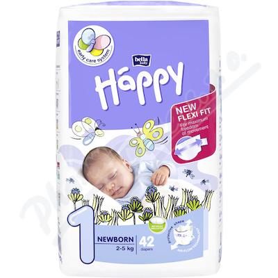 Bella Happy New Born dětské pleny 2-5 kg/42ks