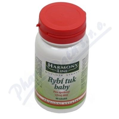 HARMONY LINE Rybí tuk Baby tob.60
