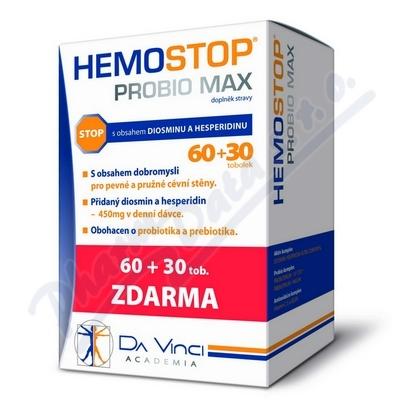 HemoStop Probio Max DaVinci tob.60+30