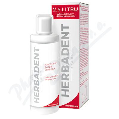 HERBADENT PROFES.koncen.bylinné ústní vody 250ml