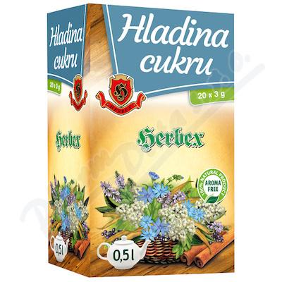 HERBEX Hladina cukru n.s.20x3g