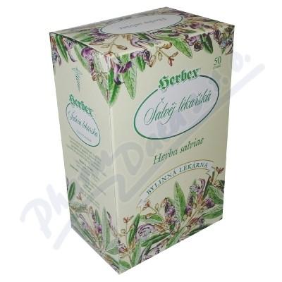 HERBEX Šalvěj lékařská čaj sypaný 50g