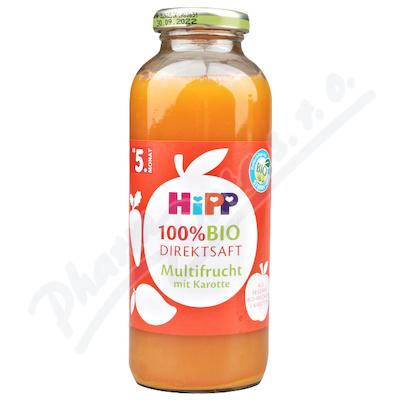 HiPP 100% BIO JUICE Ovocná šťáva s karotkou 330ml